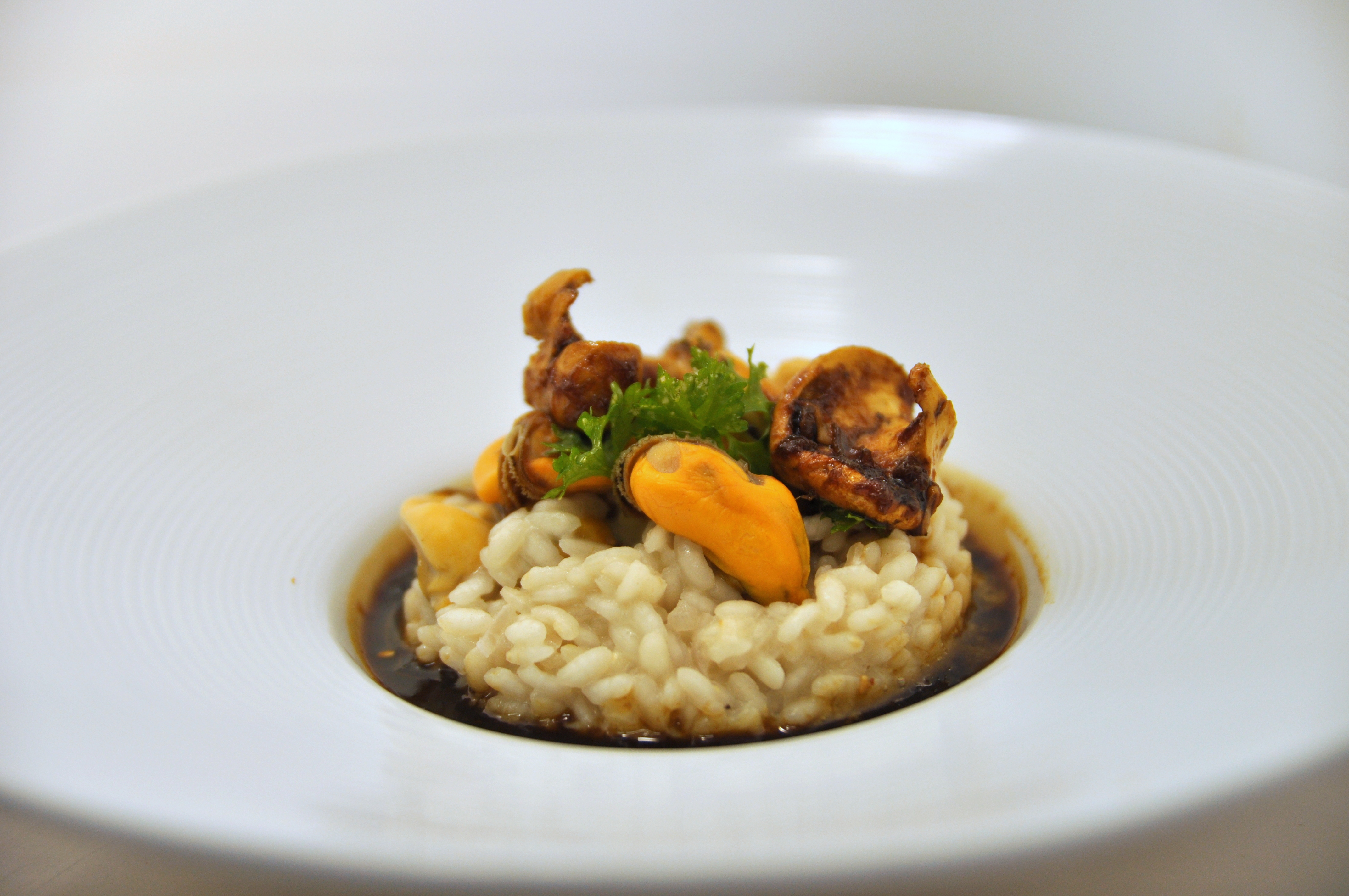 Risotto auw moules herviennes