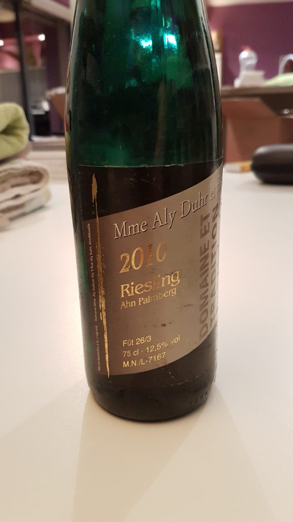 Riesling Palmberg 2010 Aly Duhr
