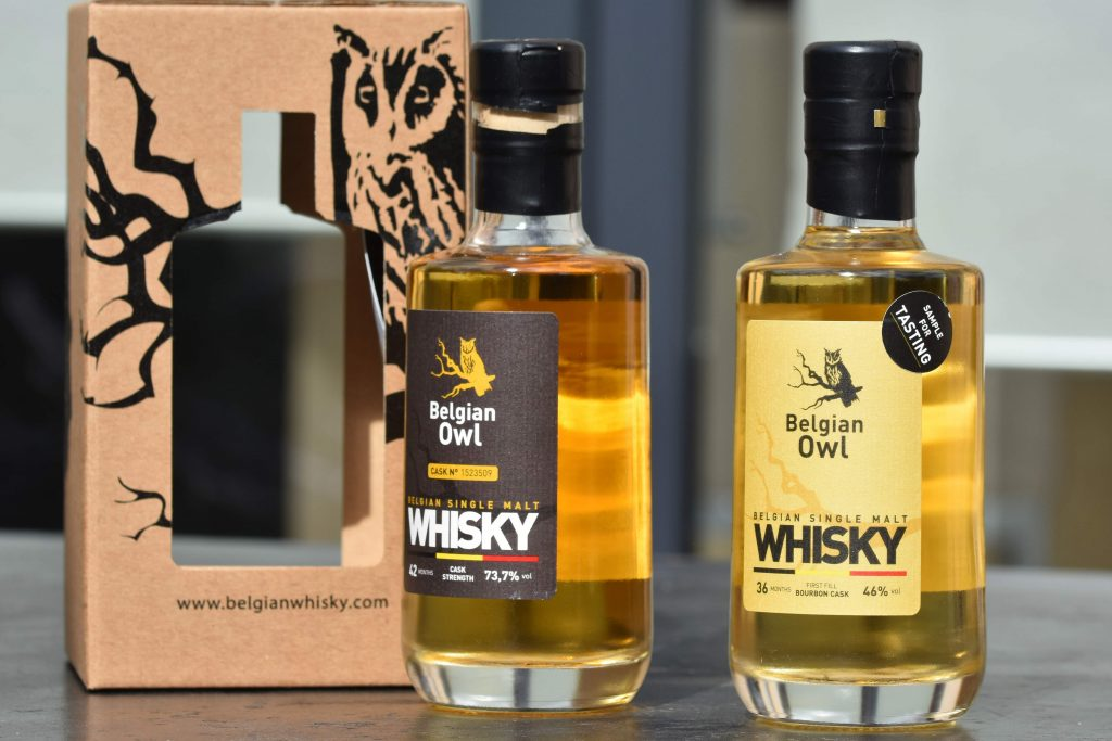 Belgian Owl - whiskies wallons